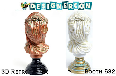 Designer Con 2017 Exclusive Anethesia Vinyl Bust by Doktor A x 3DRetro
