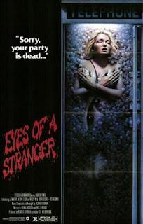Los ojos de un extraño (1980) Thriller de terror con Jennifer Jason Leigh