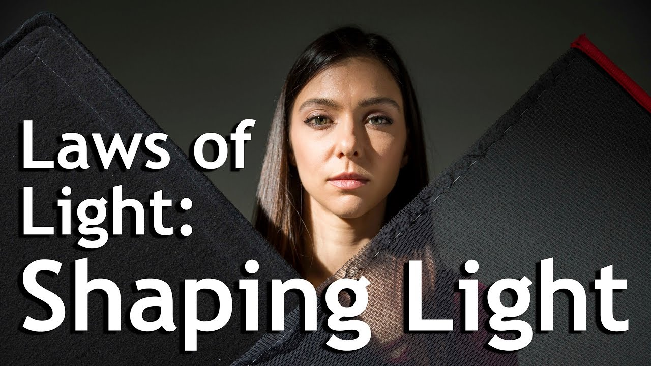 Shaping Light with Flags