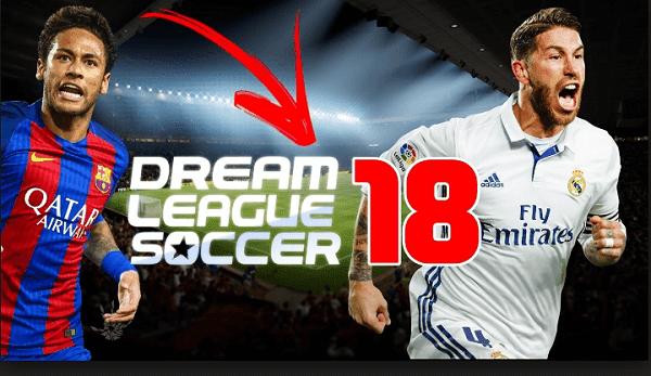 جميع إصدارت لعبة dream league soccer 2018