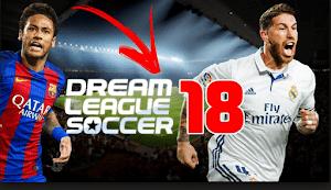 جميع إصدارت لعبة dream league soccer 2018 لهواتف الأندرويد