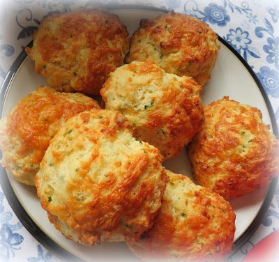 Cheddar & Chive Drop Biscuits