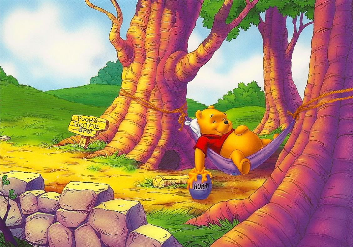 de03ccaba964 My favorite disney postcards winnie the pooh sleeping on a hammock jpg  1128x790 Baby pooh bear