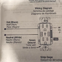 Check the instructions on wiring locations