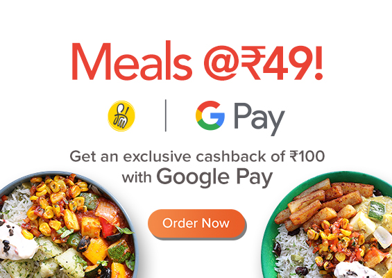FreshMenu  - Get Rs.149 Order in Just Rs.49 with Google Pay + Extra 50% Off for New Users