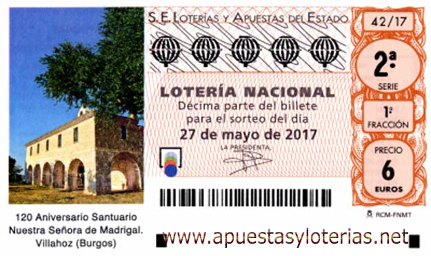 sorteo 42 loteria nacional del sabado 27 de mayo de 2017