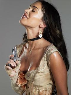 Megan Fox In Action With Pistol 3