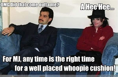 Michael Jackson Whoopie Cushion Meme