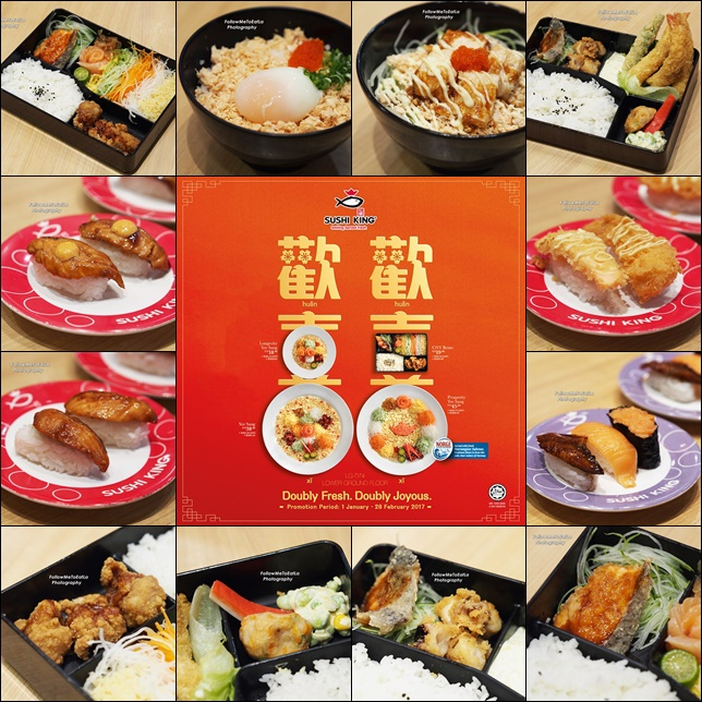 Sushi King Chinese New Year Specialities Dishes For 2017