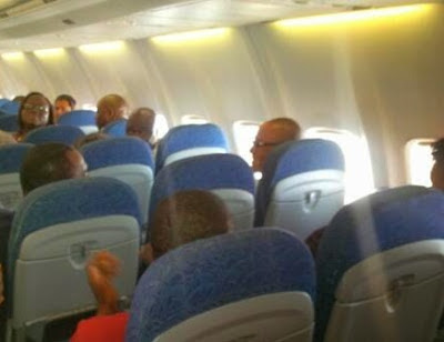 Funny things Nigerians do on plane