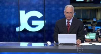 """Waack volta ao Jornal da Globo antes da hora e funcionários falam em """"marcação de território"""""""