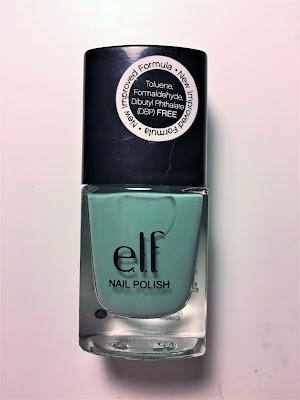 e.l.f. Nail Polish Mint Cream