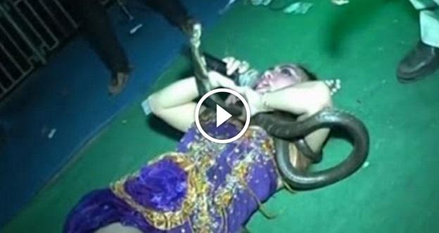 NGERI ! Video Detik-Detik Kematian Penyanyi TERKENAL Maut Selepas Dipatuk Ular Ketika LIVE !