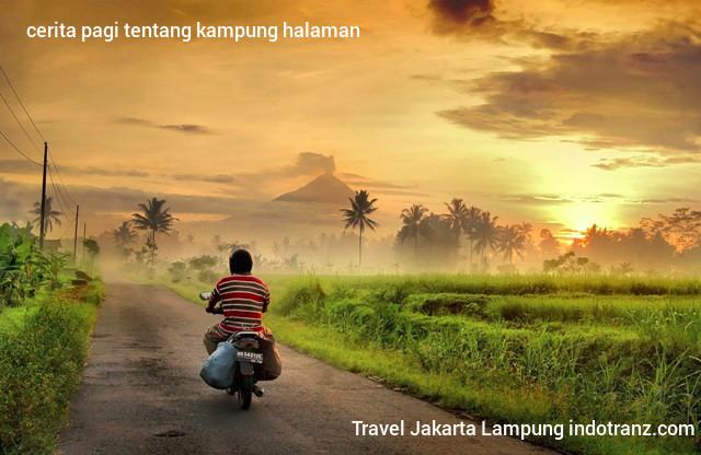 Travel Lampung ke Kampung Halaman