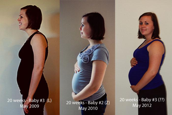 20 weeks // Baby #3