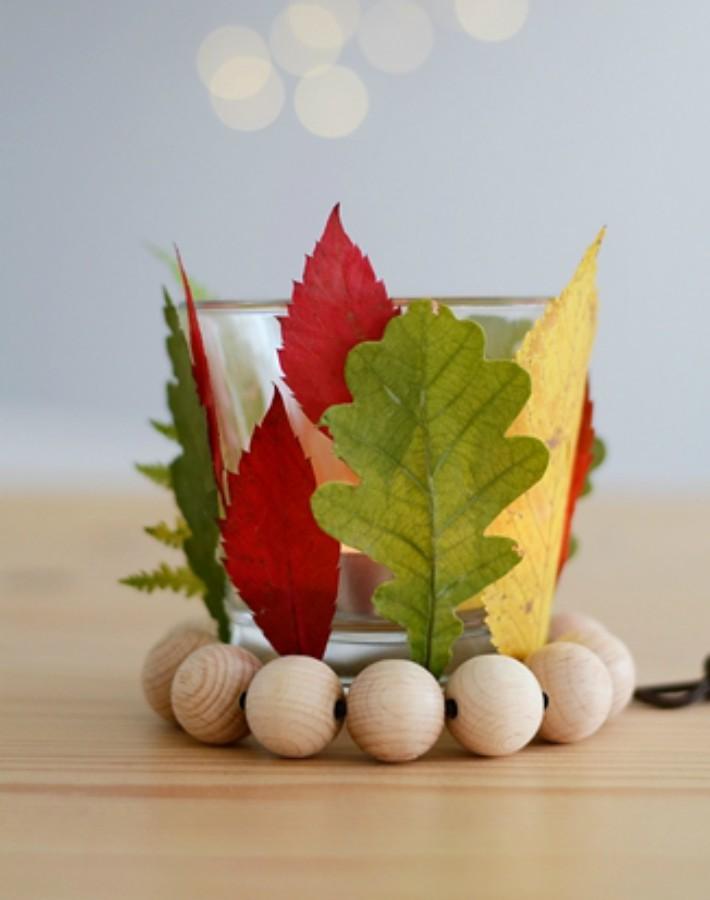 ¡Bienvenido Otoño! 7 diy para decorar con hojas