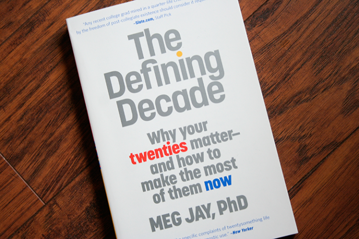 Book Review: The Defining Decade - Quite a Novel Idea