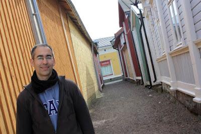 Kitukrann street in Rauma