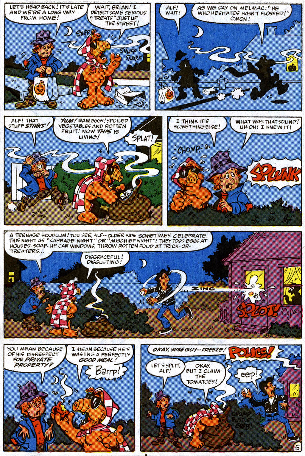 Read online ALF comic -  Issue #11 - 6