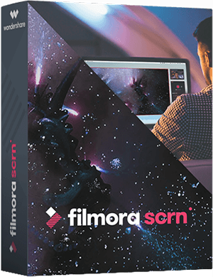 Wondershare Filmora Scrn 1.5.1 poster box cover