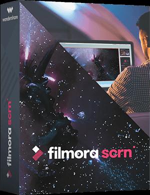 Wondershare Filmora Scrn 1.1.0 poster box cover