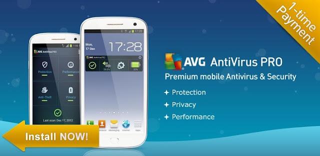 App: AVG ANTIVIRUS PRO Full Version 3.2.2 APK