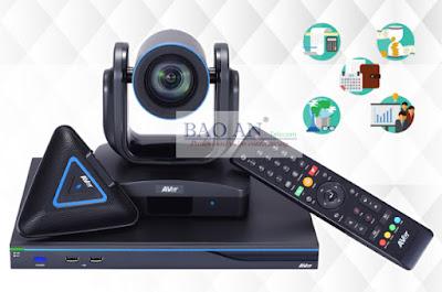 Thiết bị hội nghị truyền hình AVer EVC350 giải pháp đa điểm tối ưu