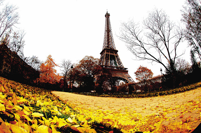 Clima de outono em Paris