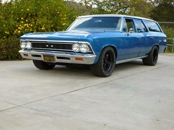 1966 Chevrolet Malibu Wagon For Sale Buy American Muscle Car