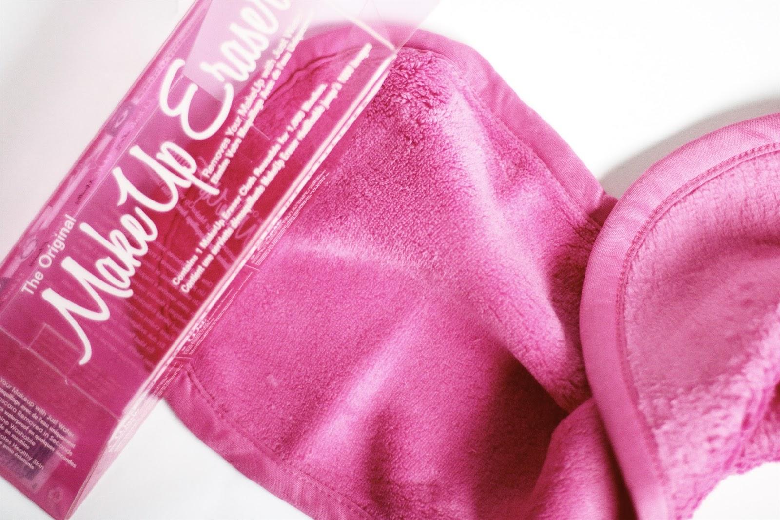 make up eraser se démaquiller sans démaquillant avec l'eau serviette démaquillante reutilisable avis test