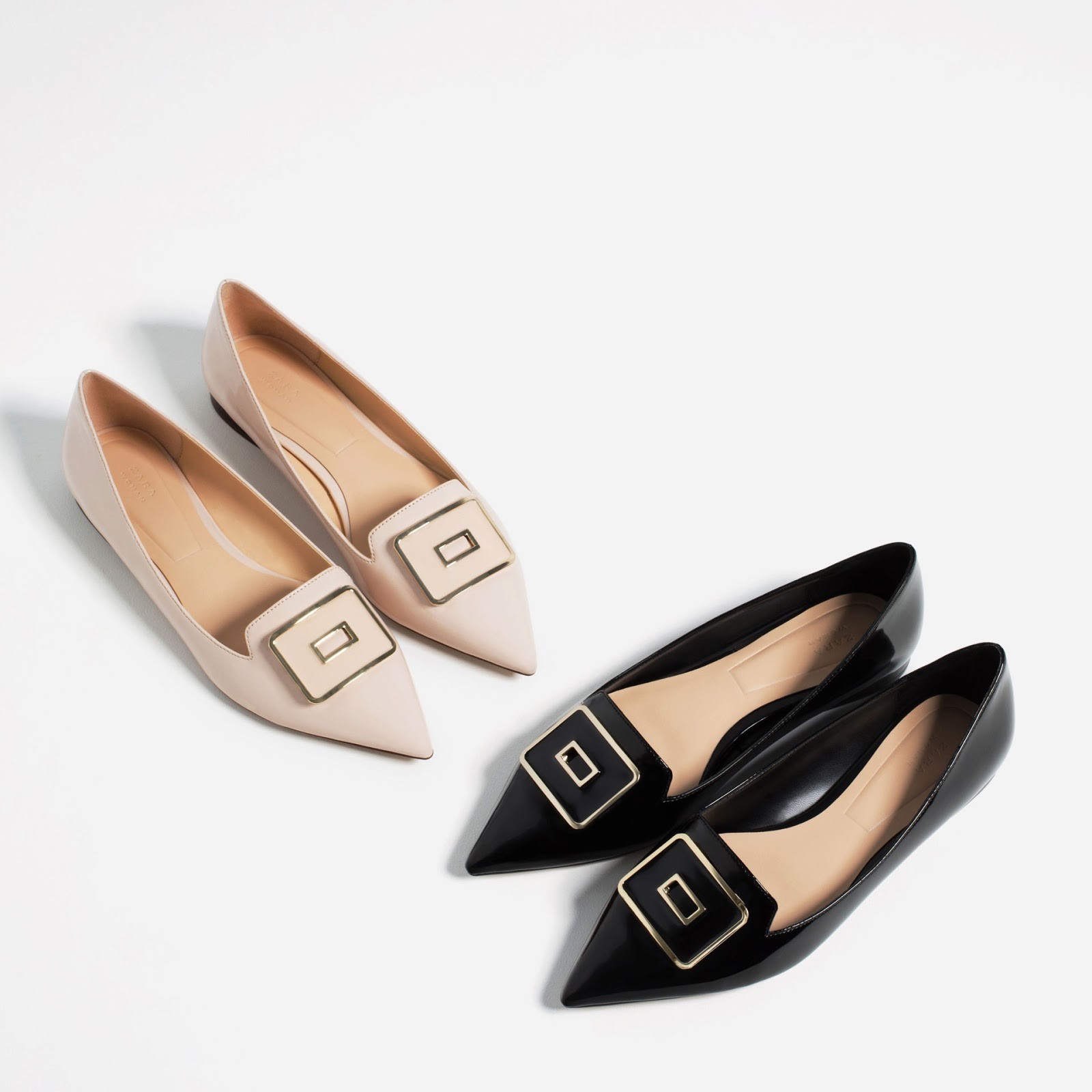 Zara Pointed Flats Beya Knockoff