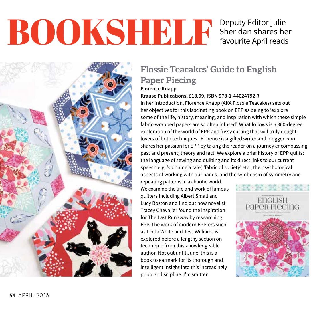 Flossie Teacakes: March 2018