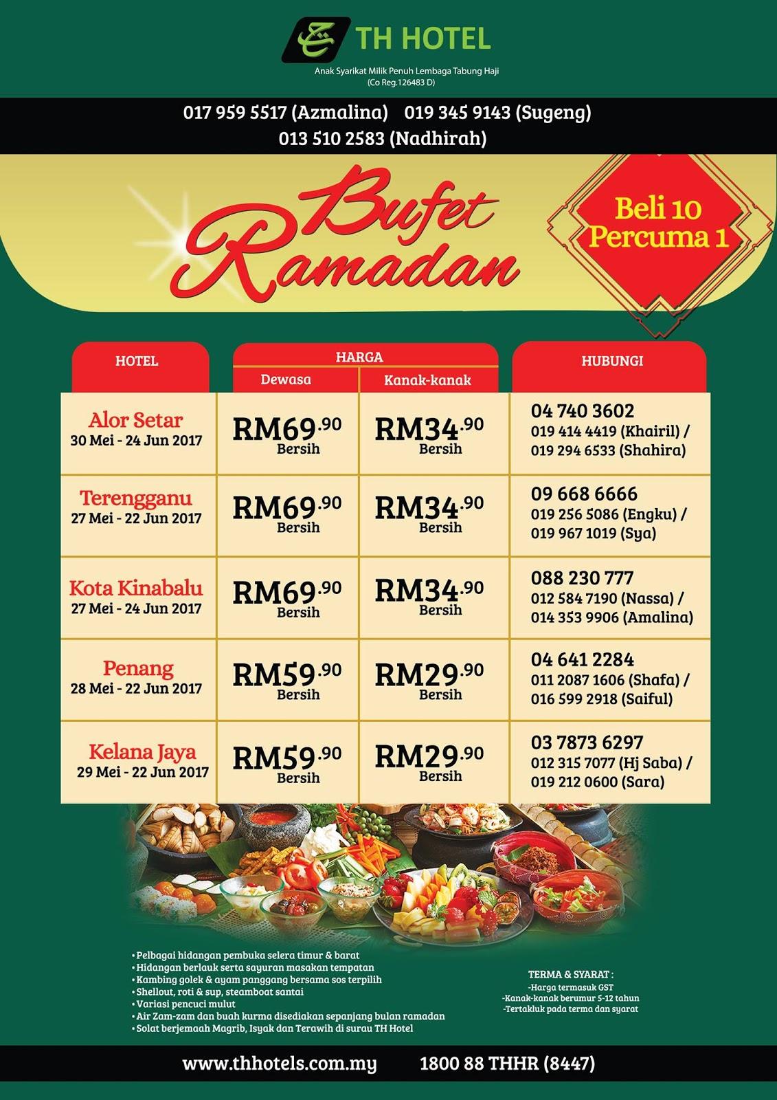 buffet ramadhan th hotel terengganu