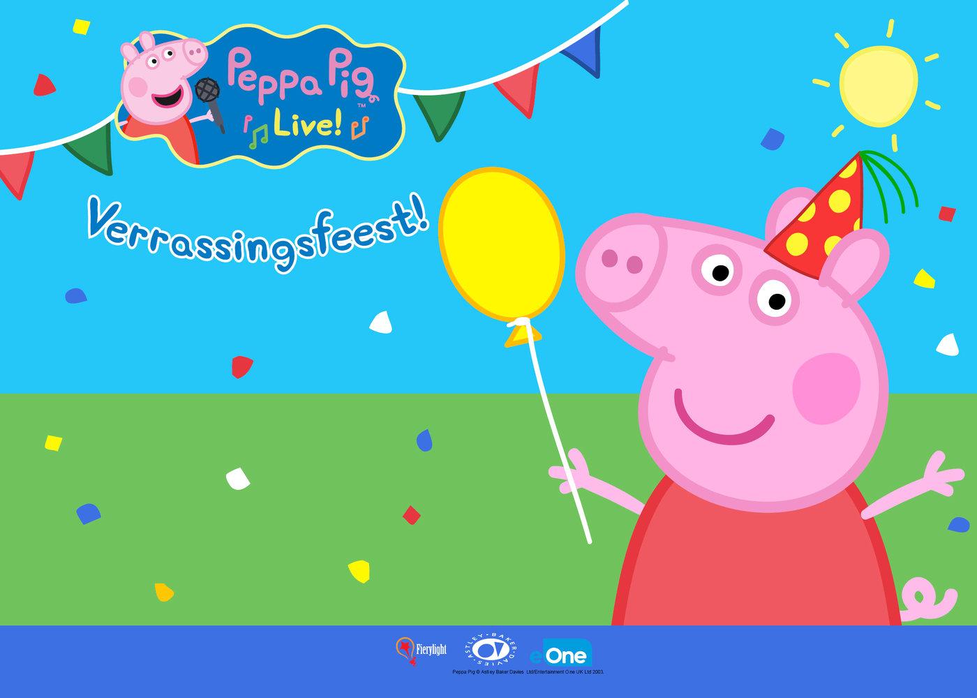 Nickalive Peppa Pig Live Verrassingsfeest To Tour The