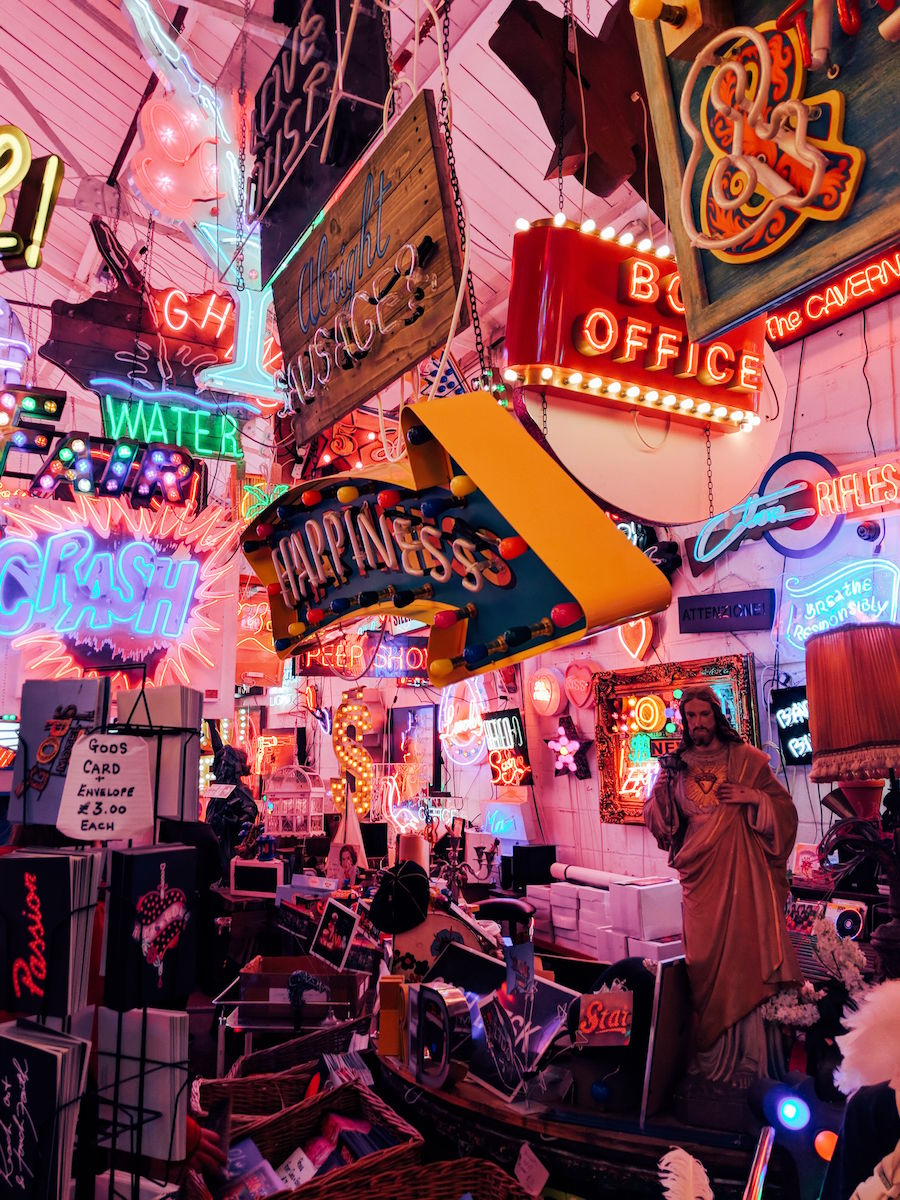 Travel blogger, Leigh Travers, visits God's Own Junkyard in Walthamstow