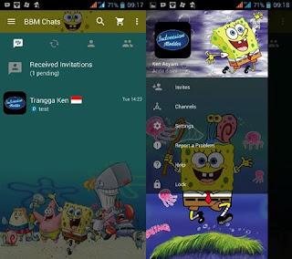 Download Kumpulan BBM MOD Karakter Tokoh Kartun Terlengkap spongebobsquarepants