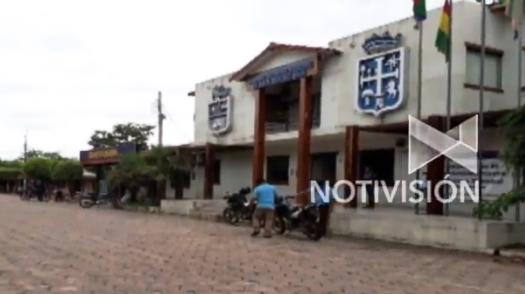 Escudo departamental dejó de ser verde en municipio controlado por el MAS