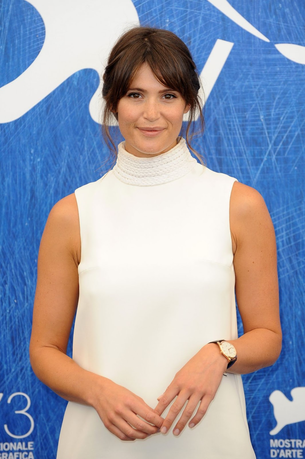 Gemma Arterton At 73rd Venice Film Festival Photocall In Venice