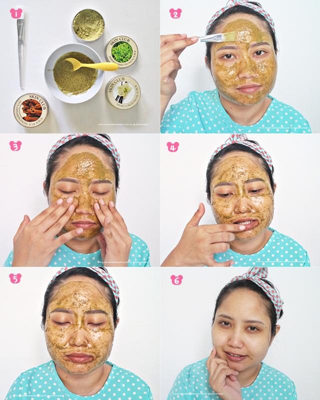 Tutorial Memakai Facial Scrub