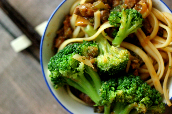 Easy Weeknight Beef and Broccoli #Labels4Edu #Shop