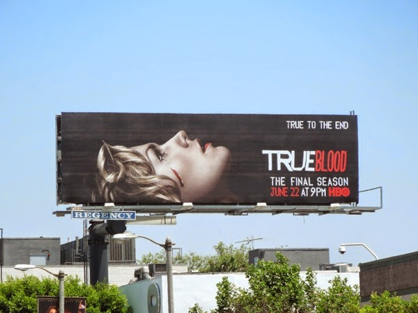 True Blood True to the end season 7 billboard