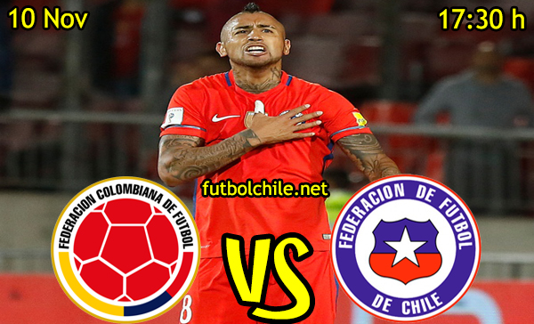 Ver stream hd youtube facebook movil android ios iphone table ipad windows mac linux resultado en vivo, online:  Colombia vs Chile