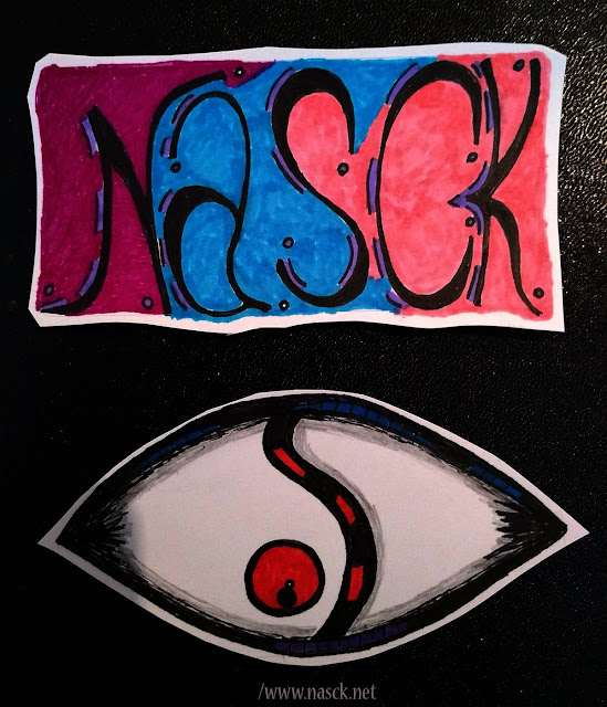 Stickers - Nasck - Olhos