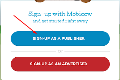 Image result for cara daftar publisher mobicow
