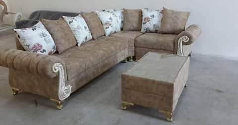 desain sofa tamu sederhana