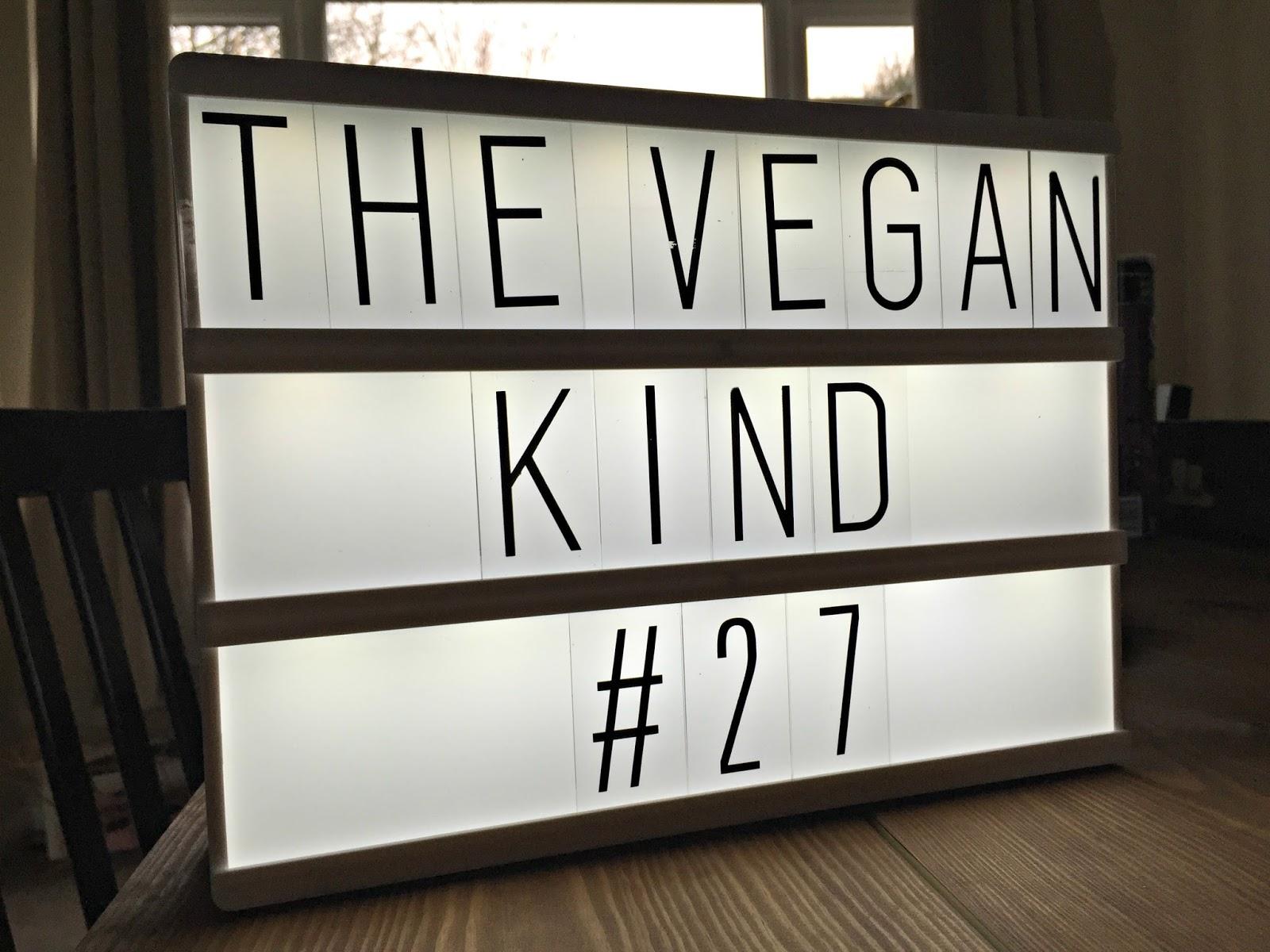 The Vegan Kind Subscription Box January 2016 TVK27