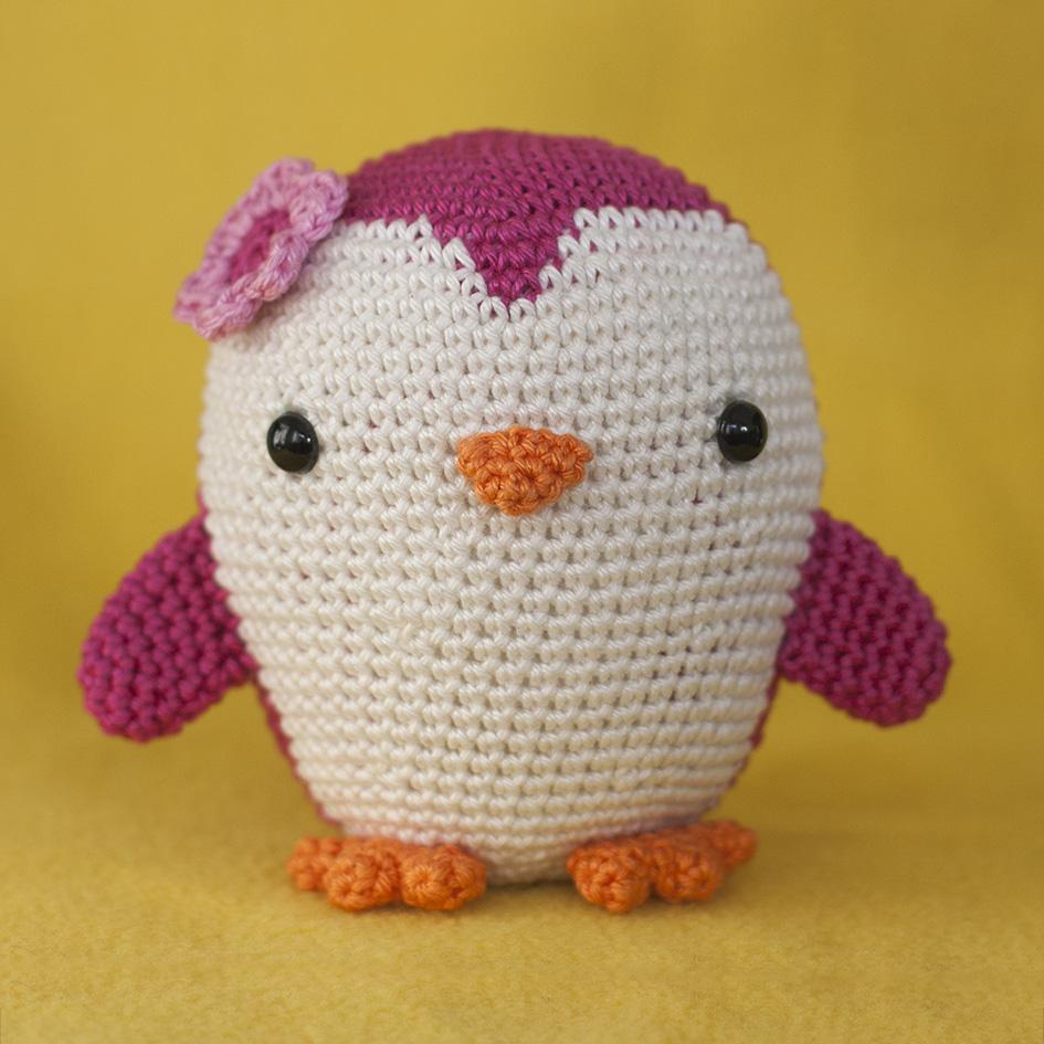 Amigurumi Crochet Penguin Pattern : Toy Patterns by DIY Fluffies : Penguin amigurumi crochet ...