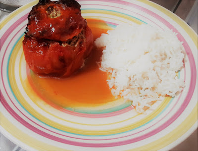 recette tomates farcies riz facile sans gluten enfant famille cuisine restes