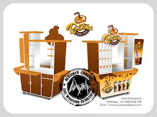 desain gerobak thaitea bistara