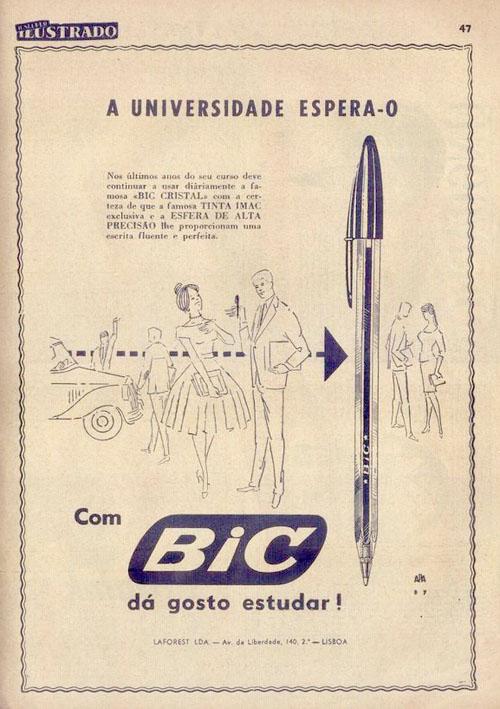 Шариковая ручка Bic Crystal